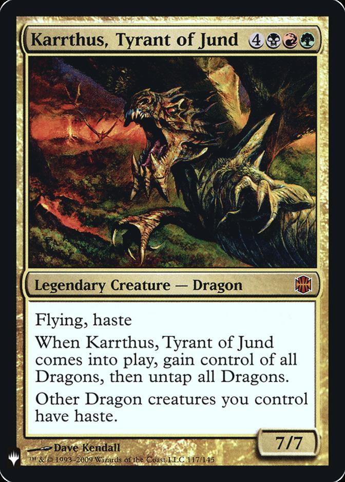 Karrthus, Tyrant of Jund [FMB1] (F)