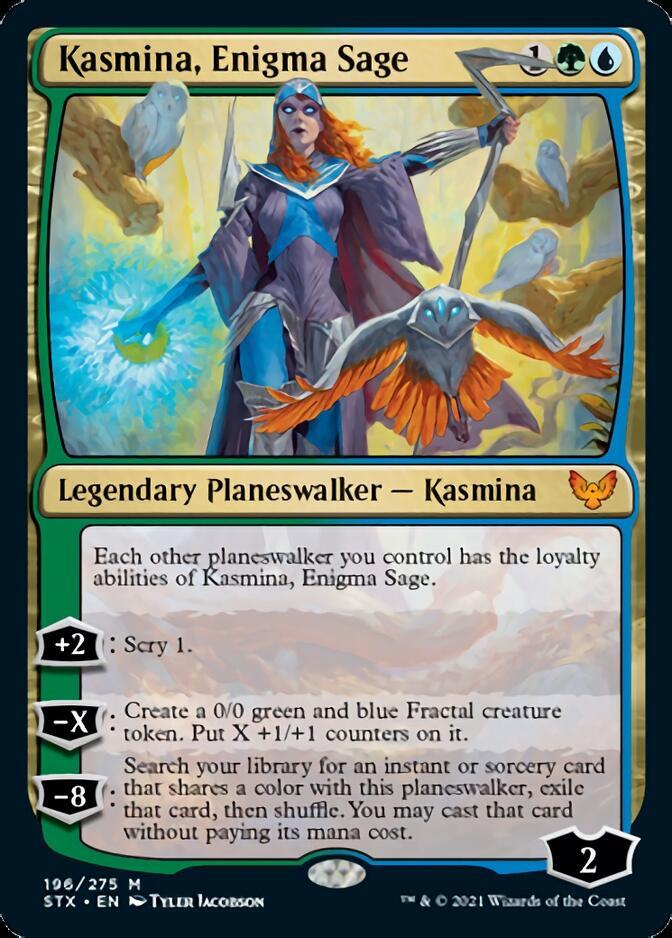 Kasmina, Enigma Sage [STX]