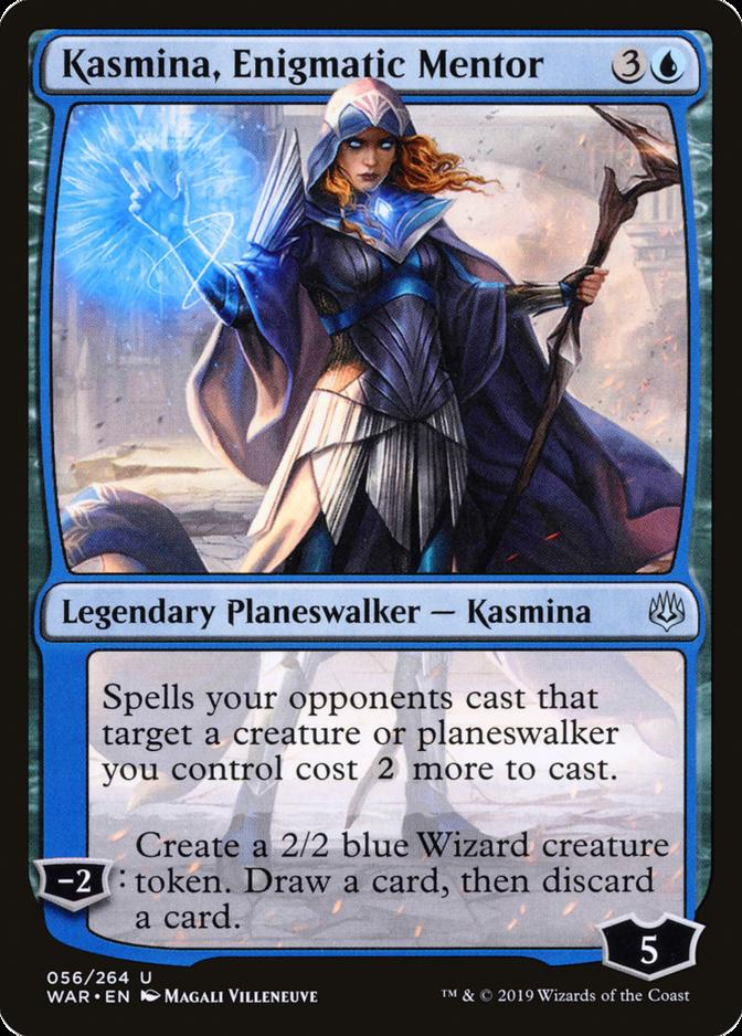 Kasmina, Enigmatic Mentor [WAR]
