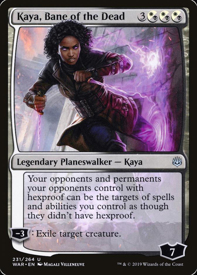Kaya, Bane of the Dead [WAR]