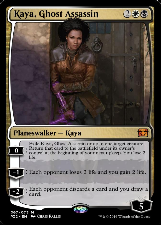 Kaya, Ghost Assassin [PZ2]