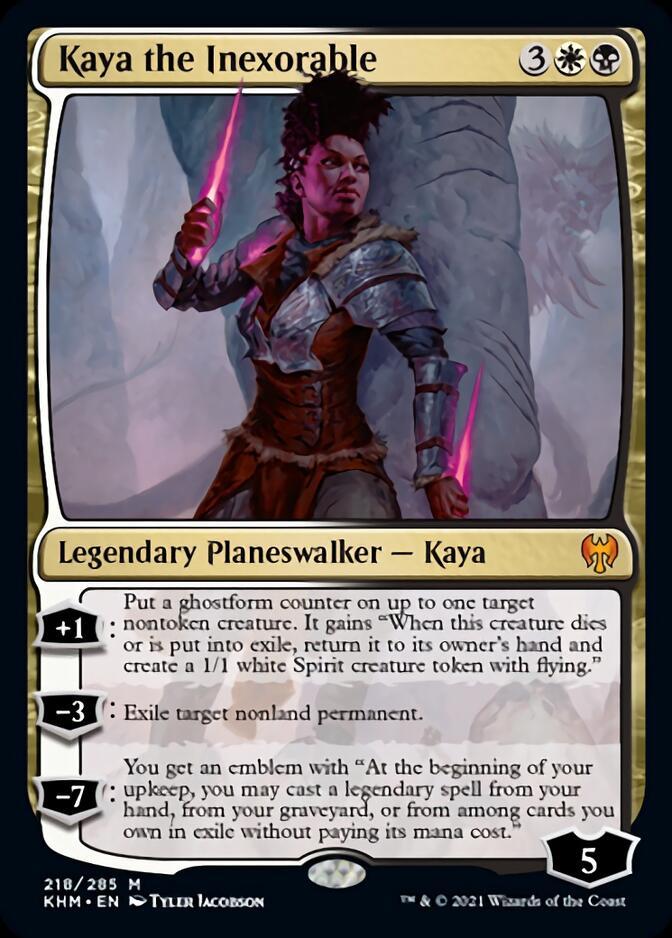 Kaya the Inexorable [KHM]