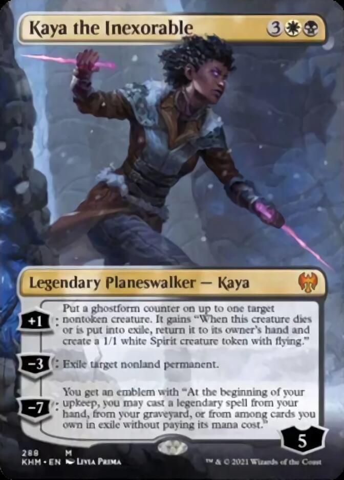 Kaya the Inexorable <borderless> [KHM]