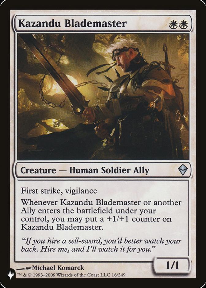 Kazandu Blademaster [PLIST]