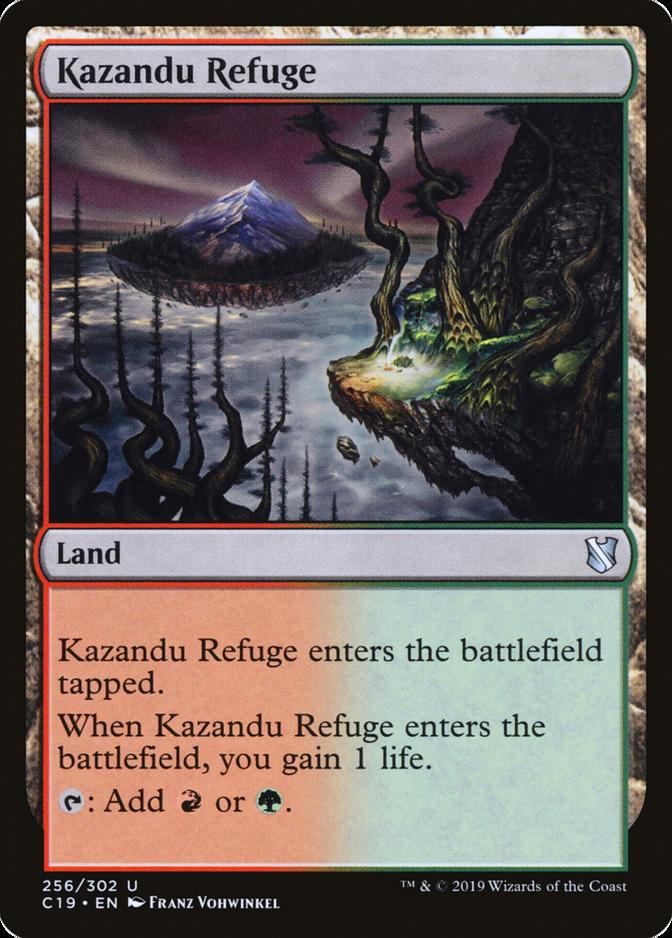Kazandu Refuge [C19]