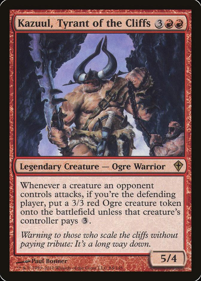 Kazuul, Tyrant of the Cliffs [WWK]