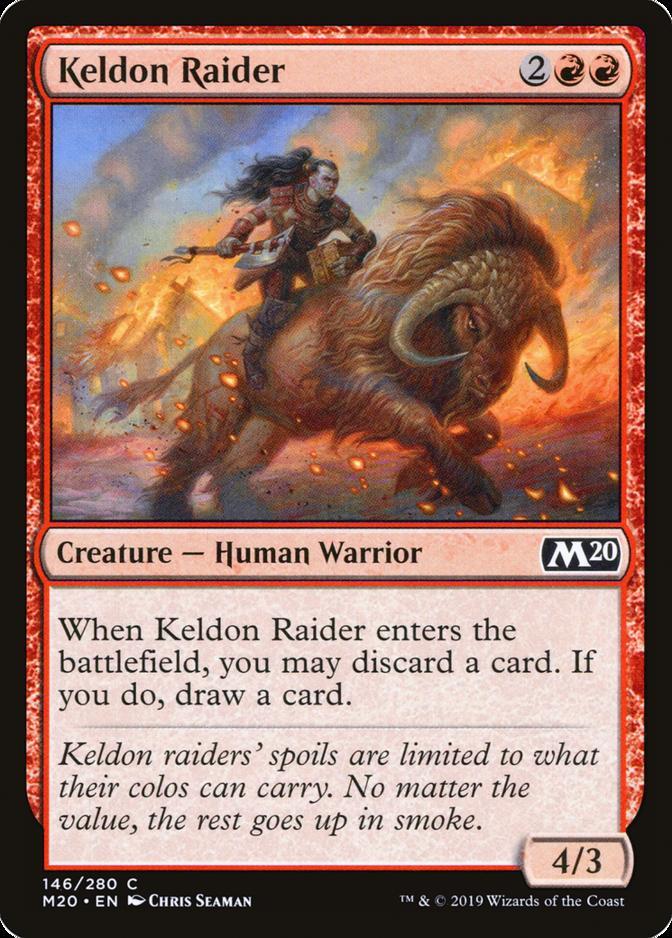 Keldon Raider [M20]