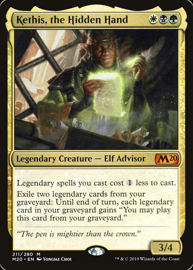 Kethis, the Hidden Hand [M20]
