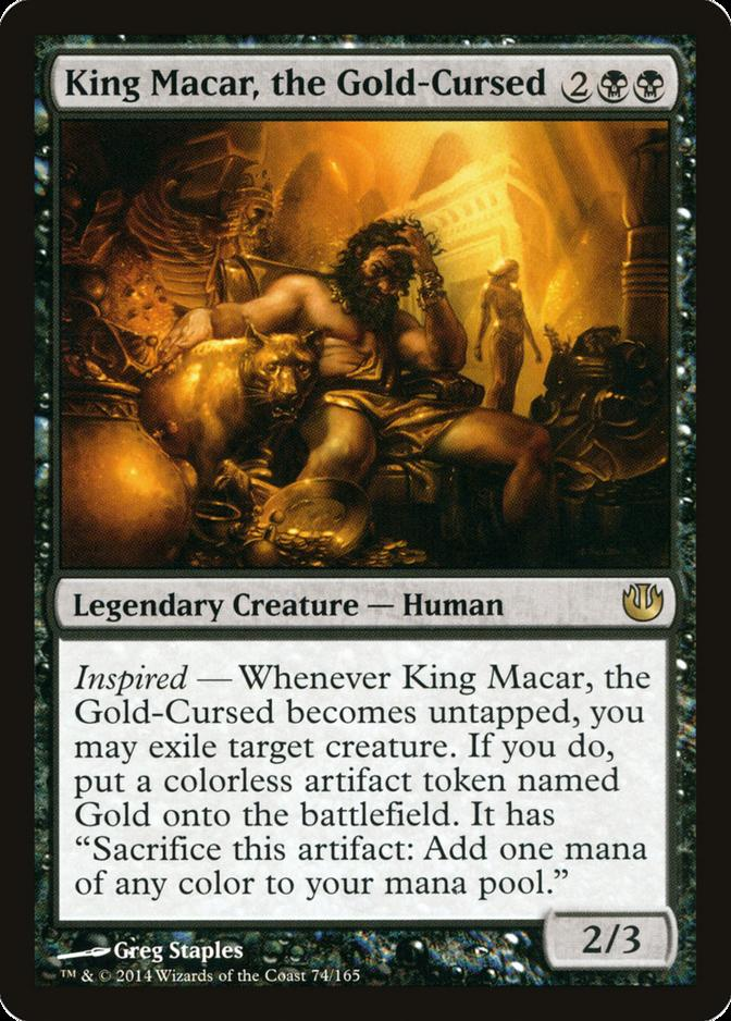 King Macar, the Gold-Cursed [JOU]