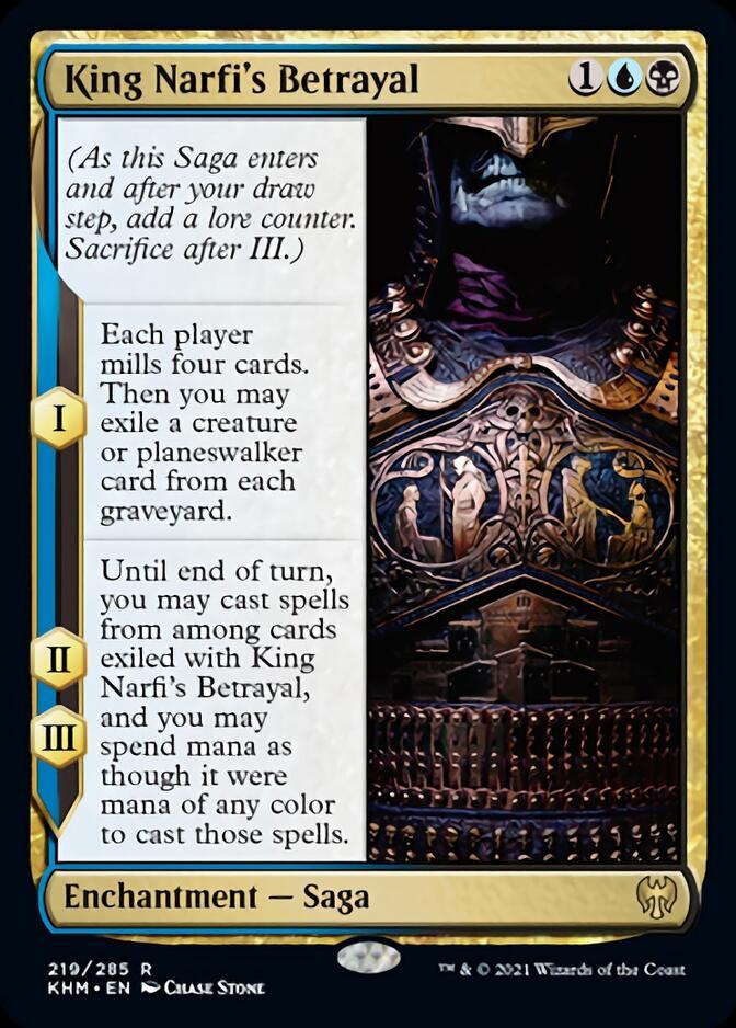 King Narfi's Betrayal [KHM]