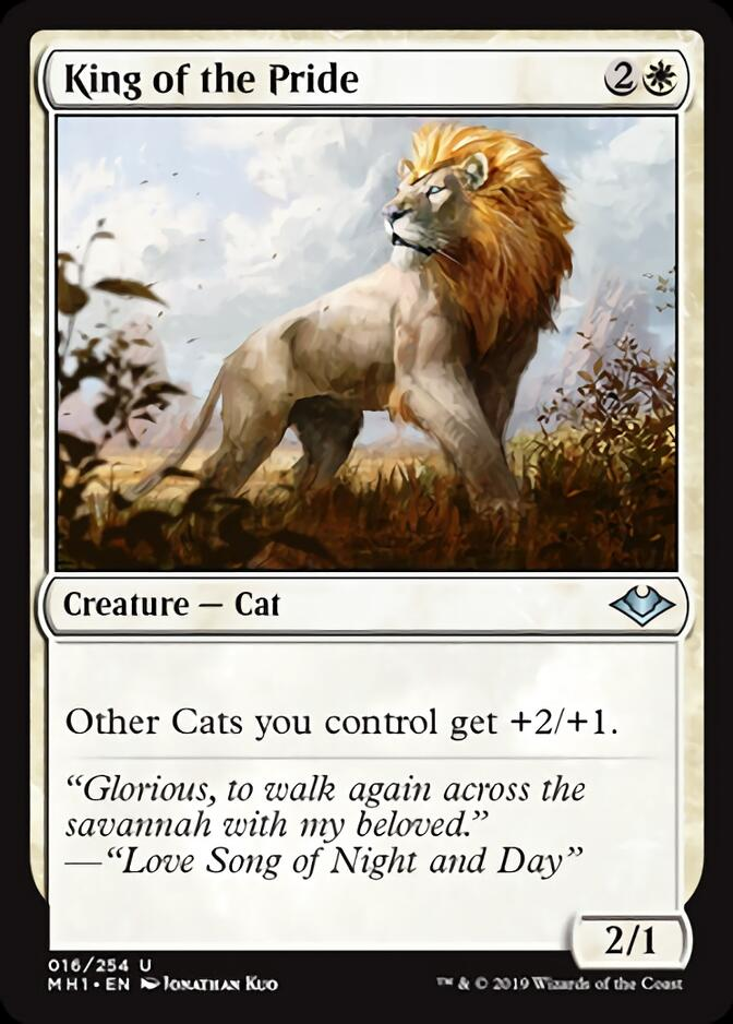 King of the Pride [J21]