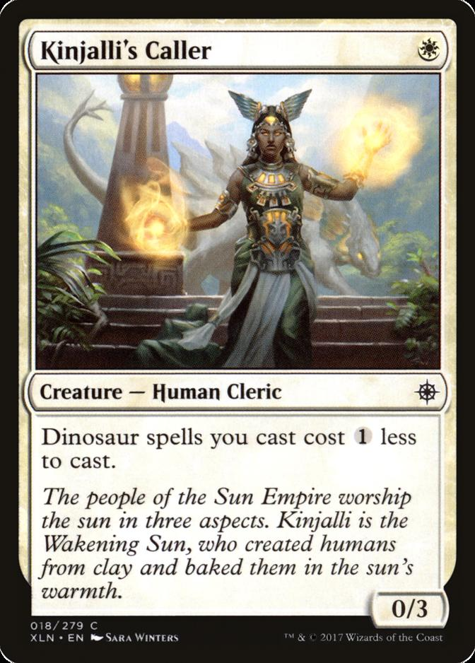Kinjalli's Caller [XLN]