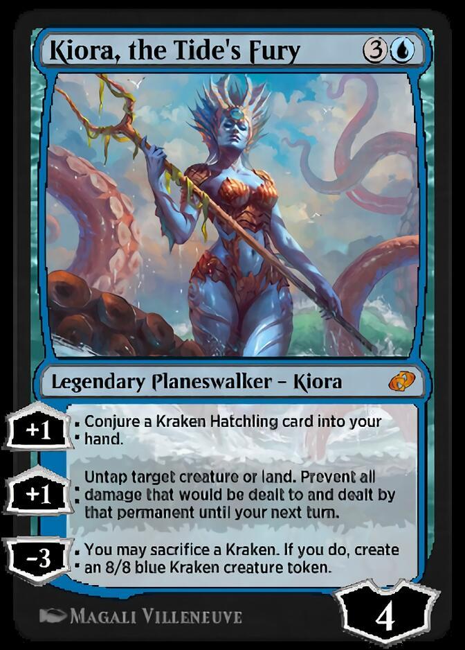 Kiora, the Tide's Fury [J21]