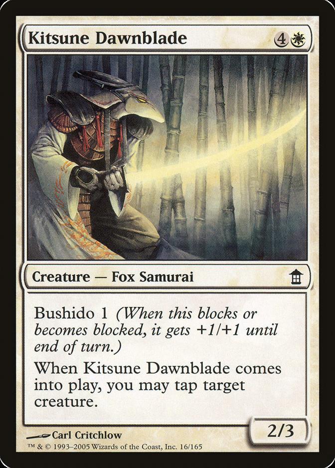 Kitsune Dawnblade [SOK]