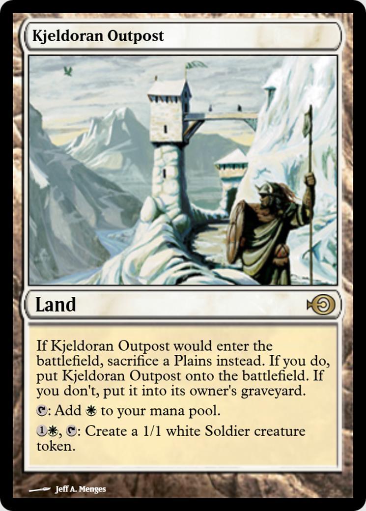 Kjeldoran Outpost [PRM]