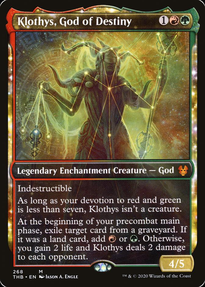 Klothys, God of Destiny [PTHB]