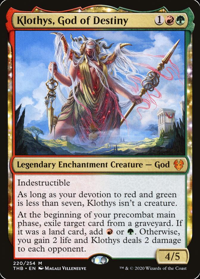 Klothys, God of Destiny [THB]