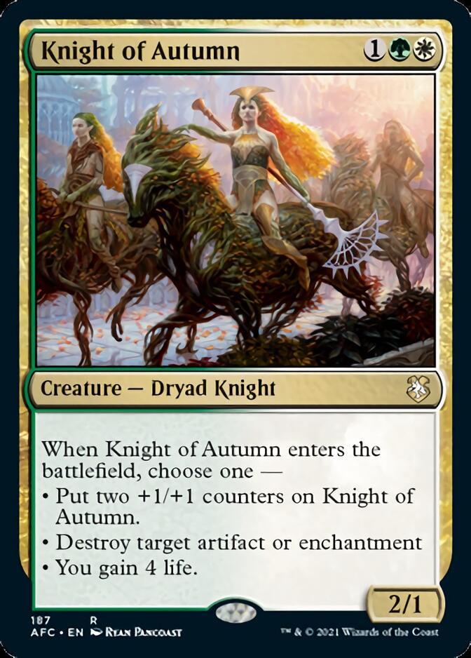 Knight of Autumn [AFC]