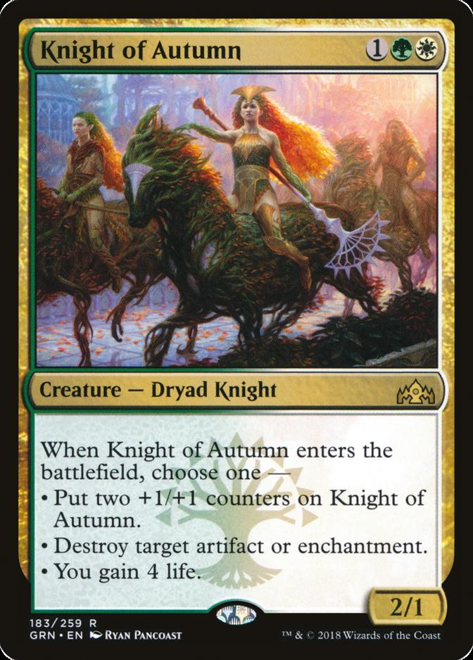 Knight of Autumn [GRN]