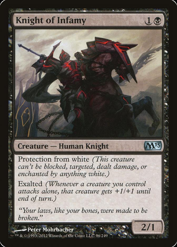 Knight of Infamy [M13]