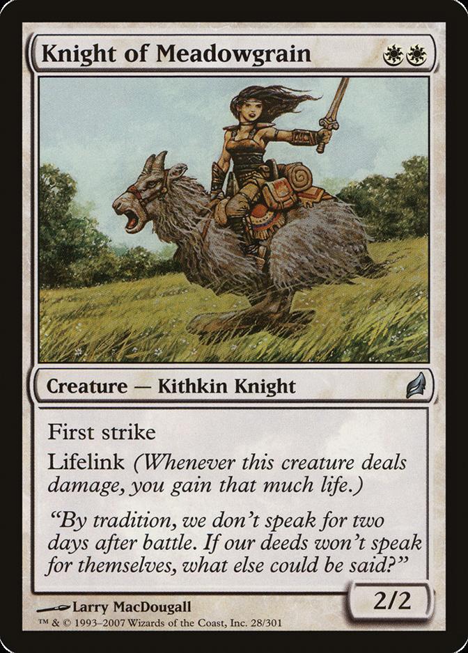 Knight of Meadowgrain [LRW] (F)