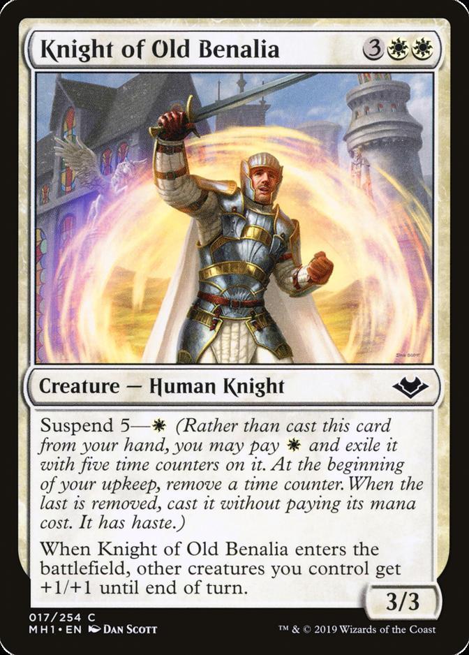 Knight of Old Benalia [MH1]