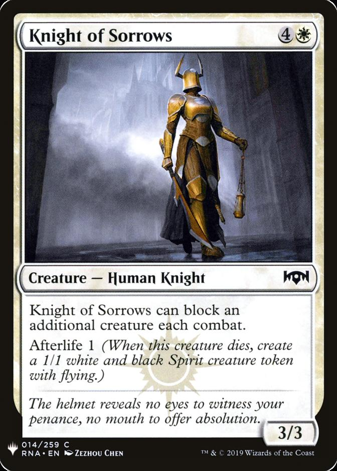 Knight of Sorrows [MB1]