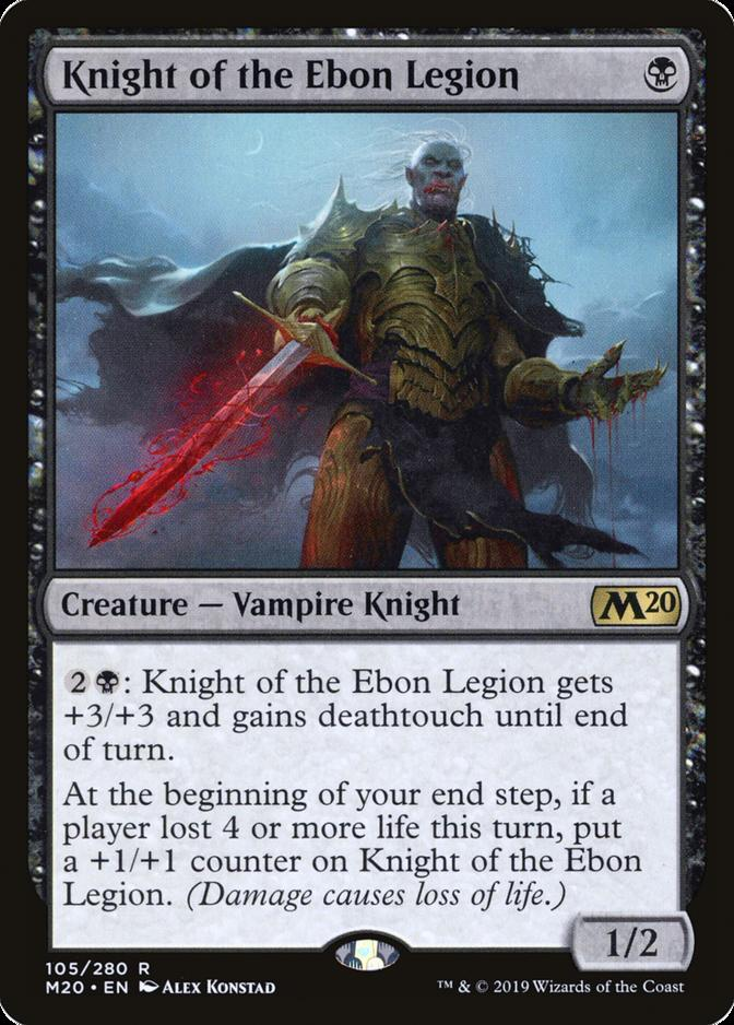 Knight of the Ebon Legion [M20]