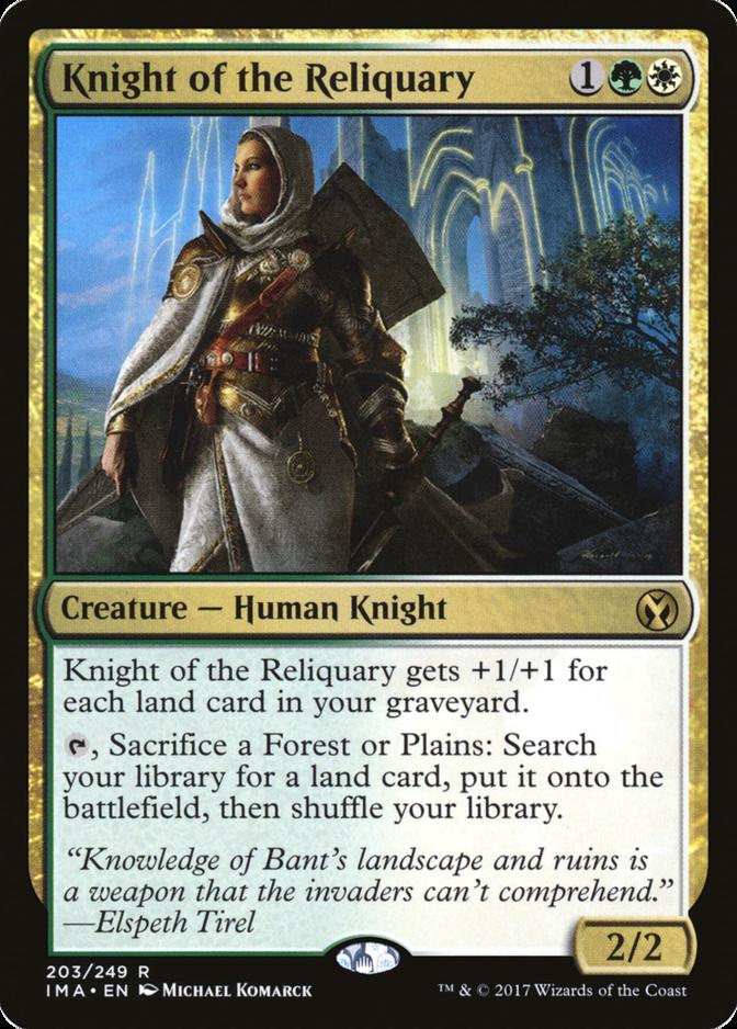 Knight of the Reliquary [IMA] (F)