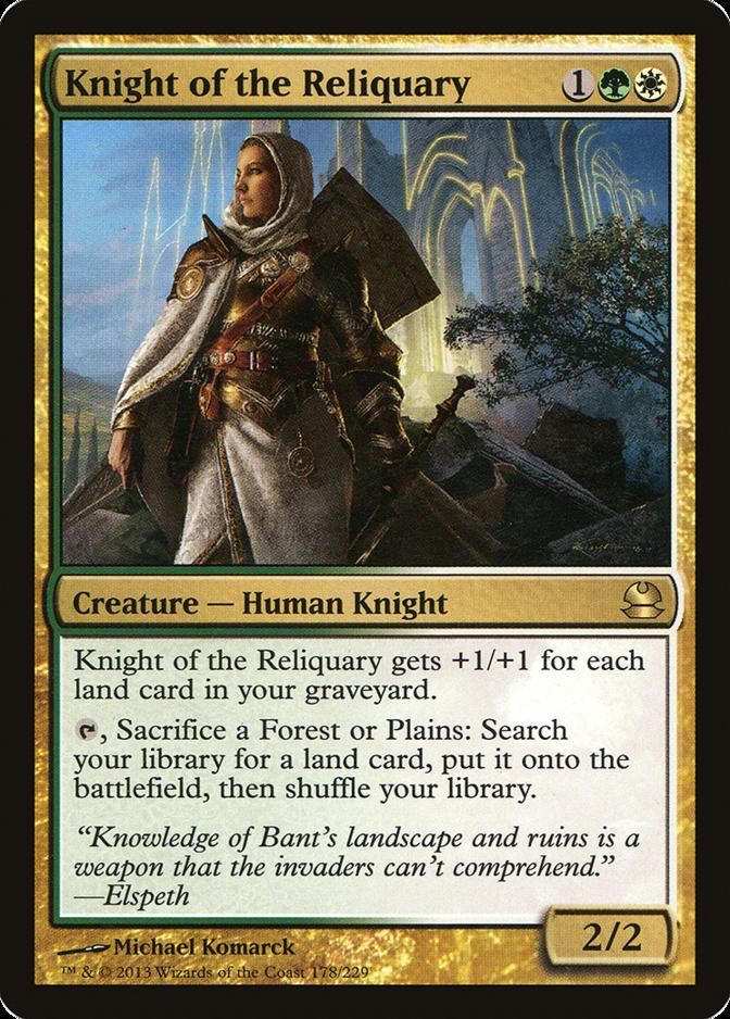 Knight of the Reliquary [MMA] (F)
