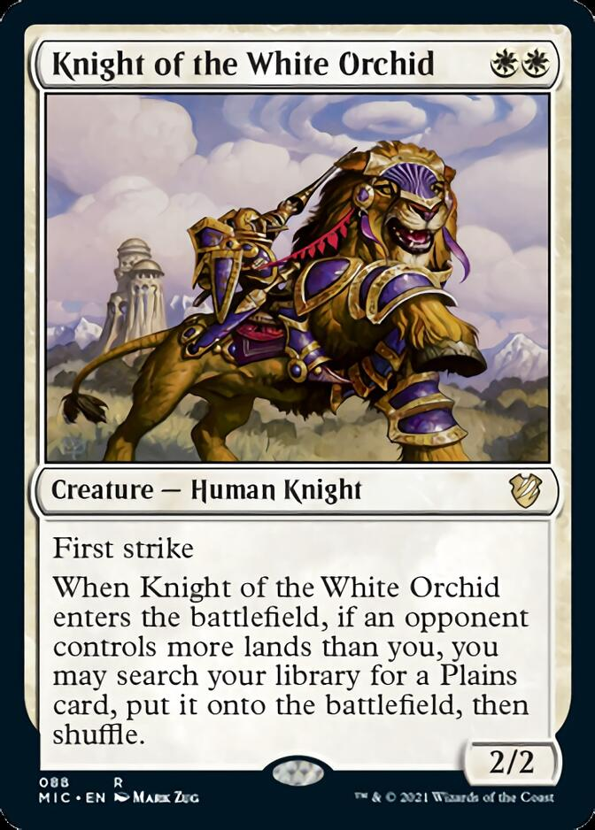 Knight of the White Orchid [MIC]