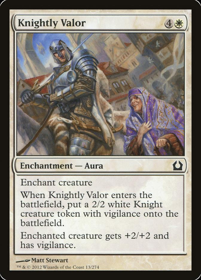 Knightly Valor [RTR]