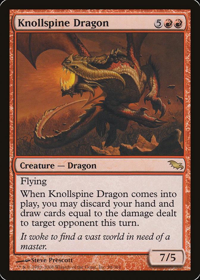 Knollspine Dragon [SHM]