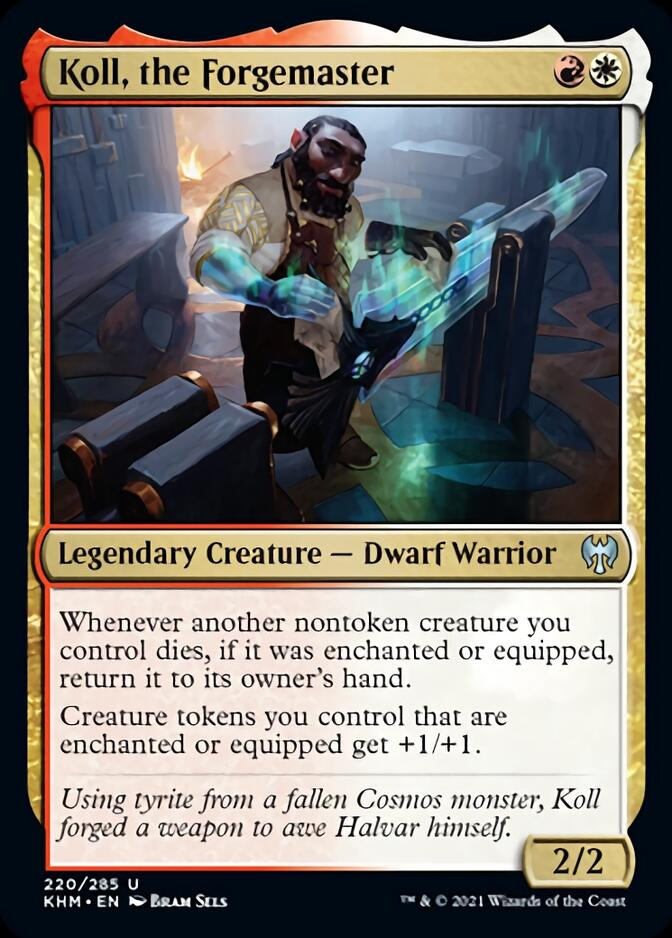 Koll, the Forgemaster [KHM]