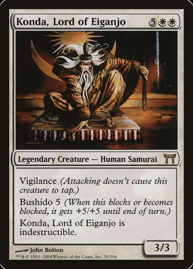 Konda, Lord of Eiganjo [CHK]