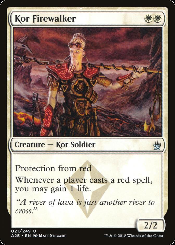 Kor Firewalker [A25]