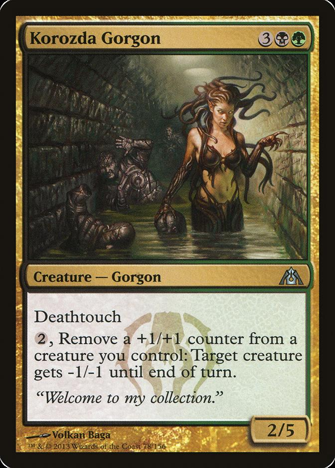 Korozda Gorgon [DGM] (F)