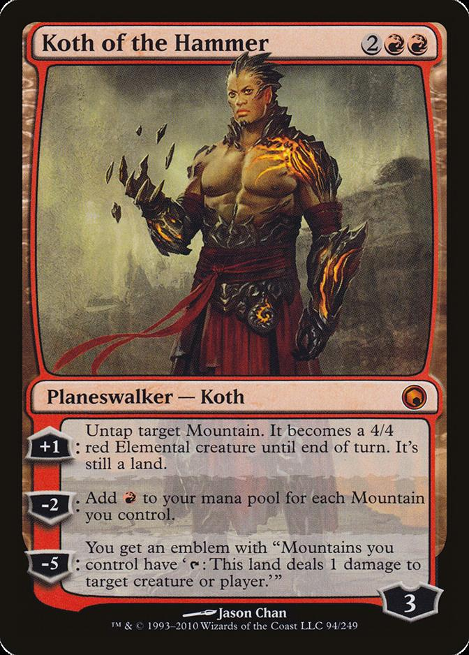 Koth of the Hammer [SOM] (F)