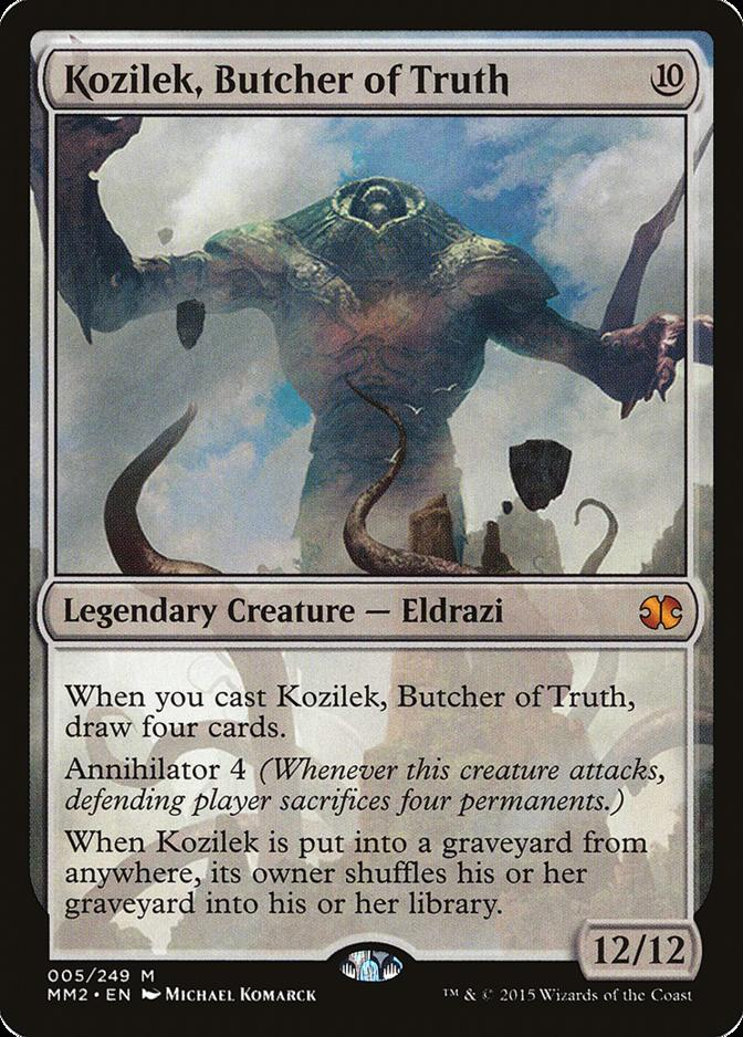 Kozilek, Butcher of Truth [MM2]