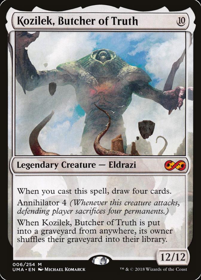 Kozilek, Butcher of Truth [UMA]