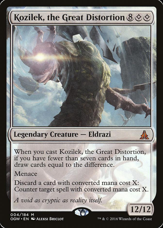 Kozilek, the Great Distortion [OGW]