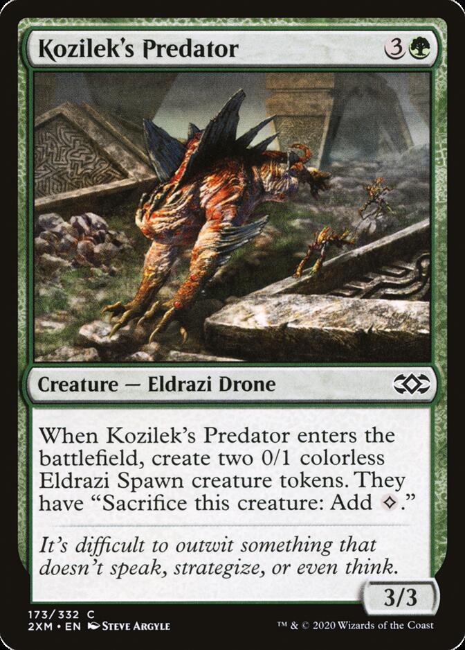 Kozilek's Predator [2XM]