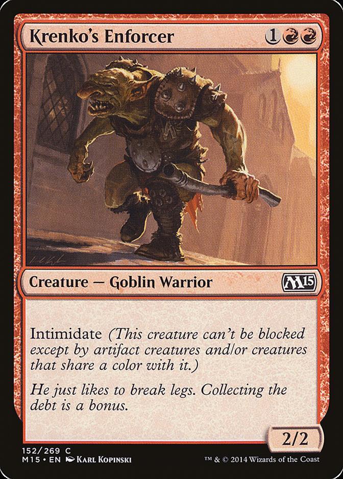 Krenko's Enforcer [M15] (F)