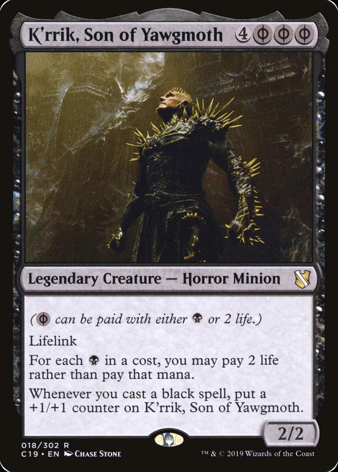 K'rrik, Son of Yawgmoth [C19]