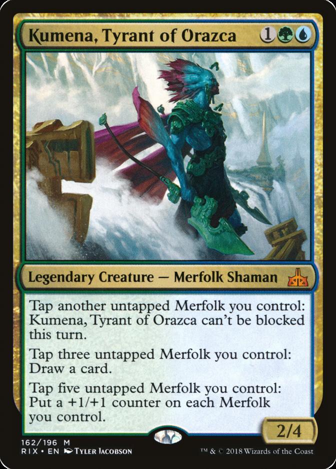 Kumena, Tyrant of Orazca [RIX]