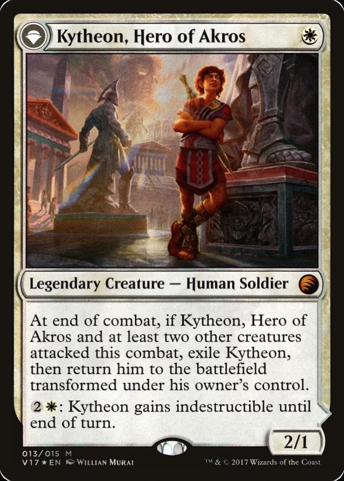 Kytheon, Hero of Akros [V17] (F)