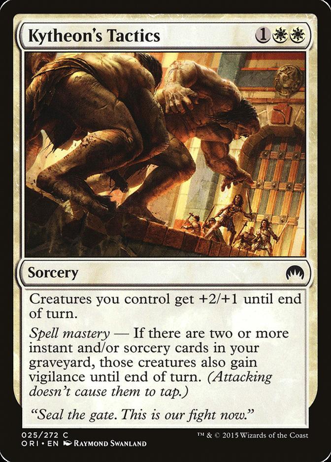 Kytheon's Tactics [ORI]