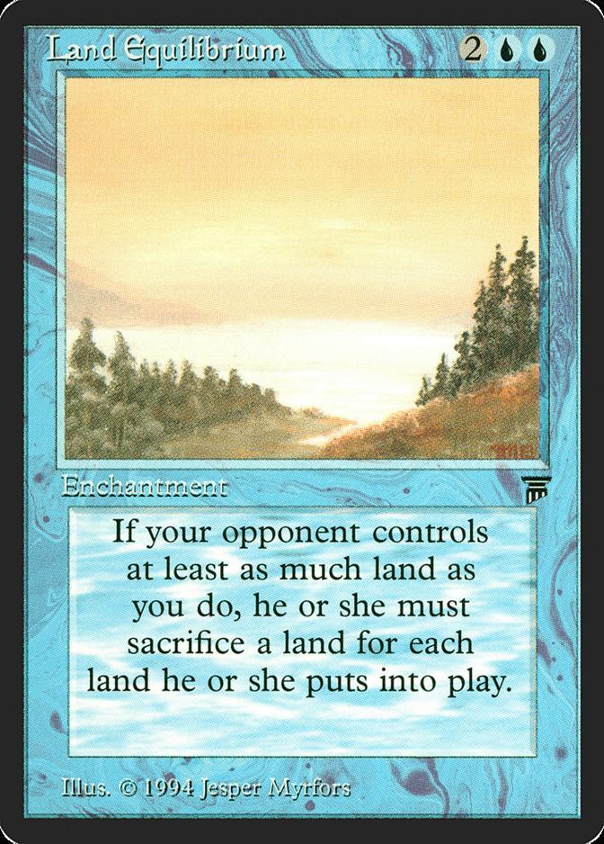 Land Equilibrium [LEG]