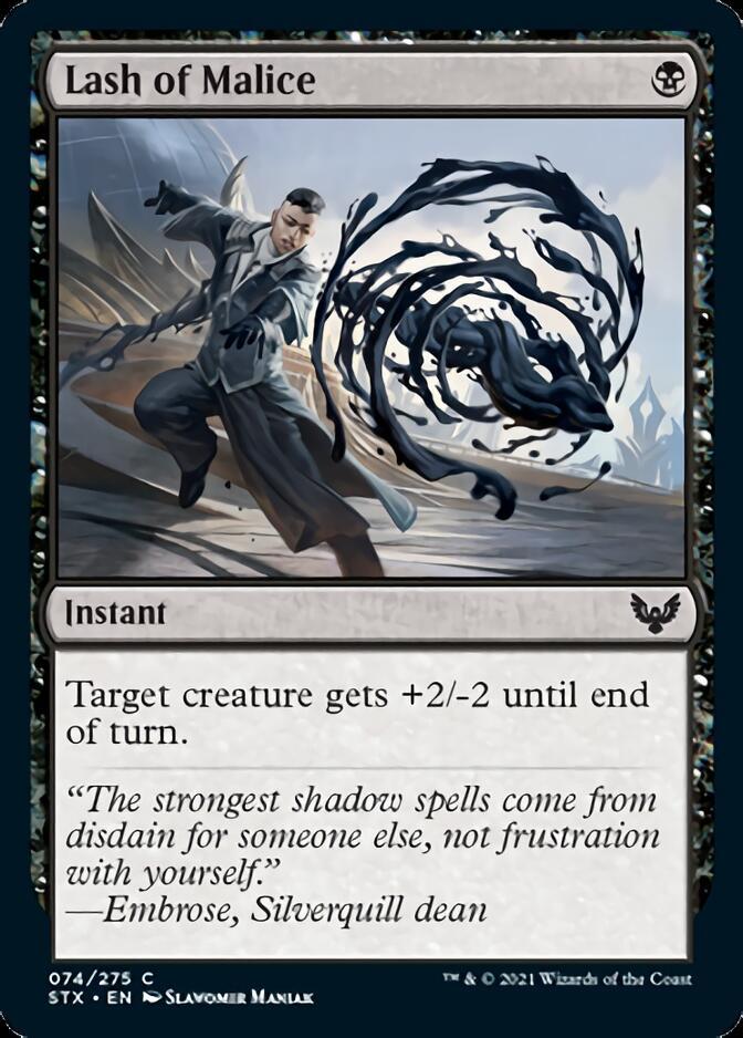 Lash of Malice [STX]