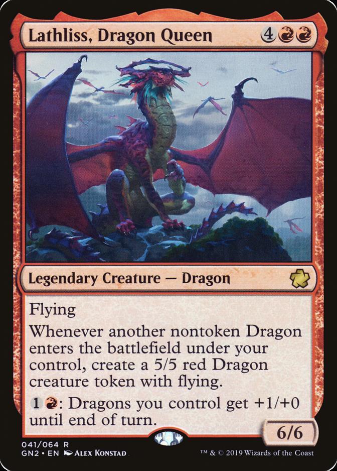 Lathliss, Dragon Queen [GN2]